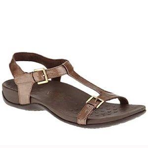 Vionic Adriane Orthaheel Comfort T Strap Sandal 9